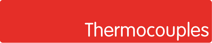 Temperature sensors (thermocouples) for heating elements temperature monitoring
