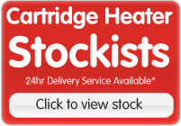 Cartridge Heaters Biggest UK Stockist